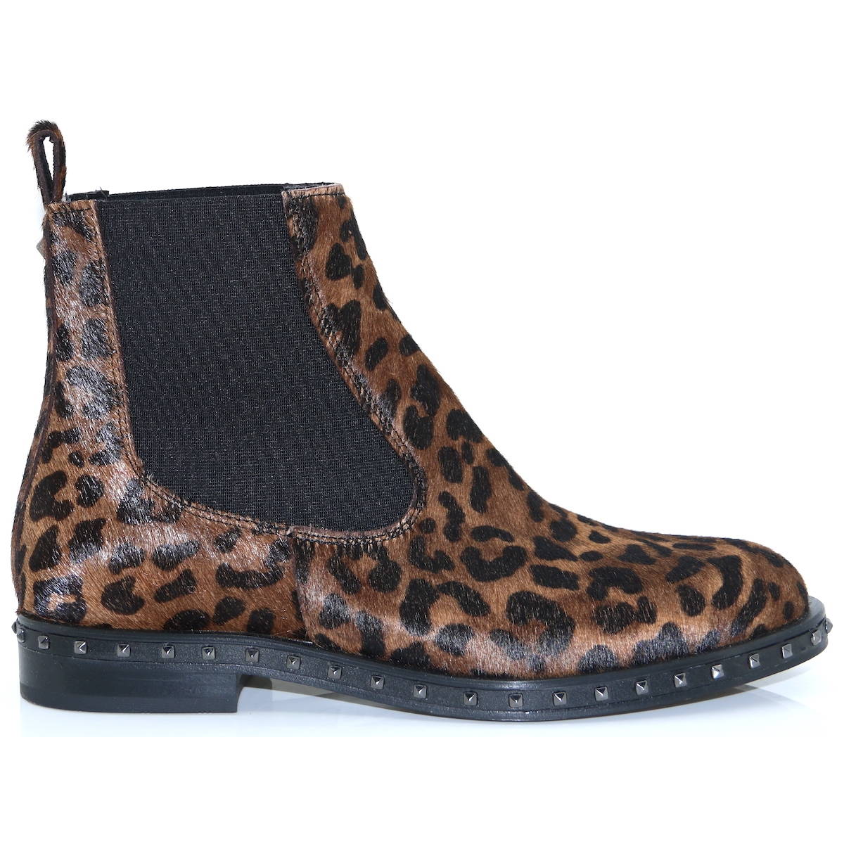 free shipping 57029 669dd 4339 - ALPE LEOPARD PRINT CHELSEA BOOTS