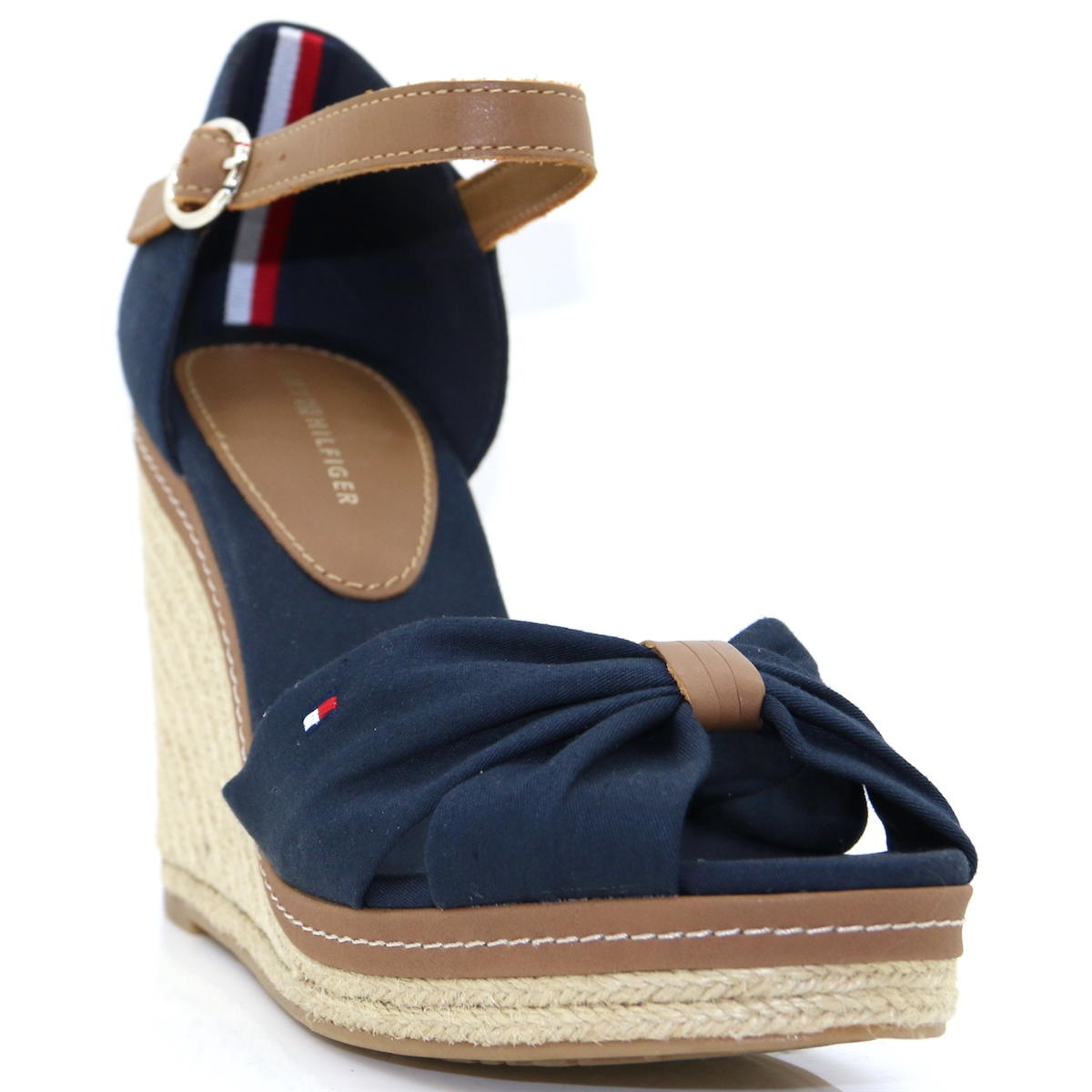 0dd4f92ad Iconic Elena Sandal - Tommy Hilfiger MIDNIGHT WEDGES - Panache Shoe Company