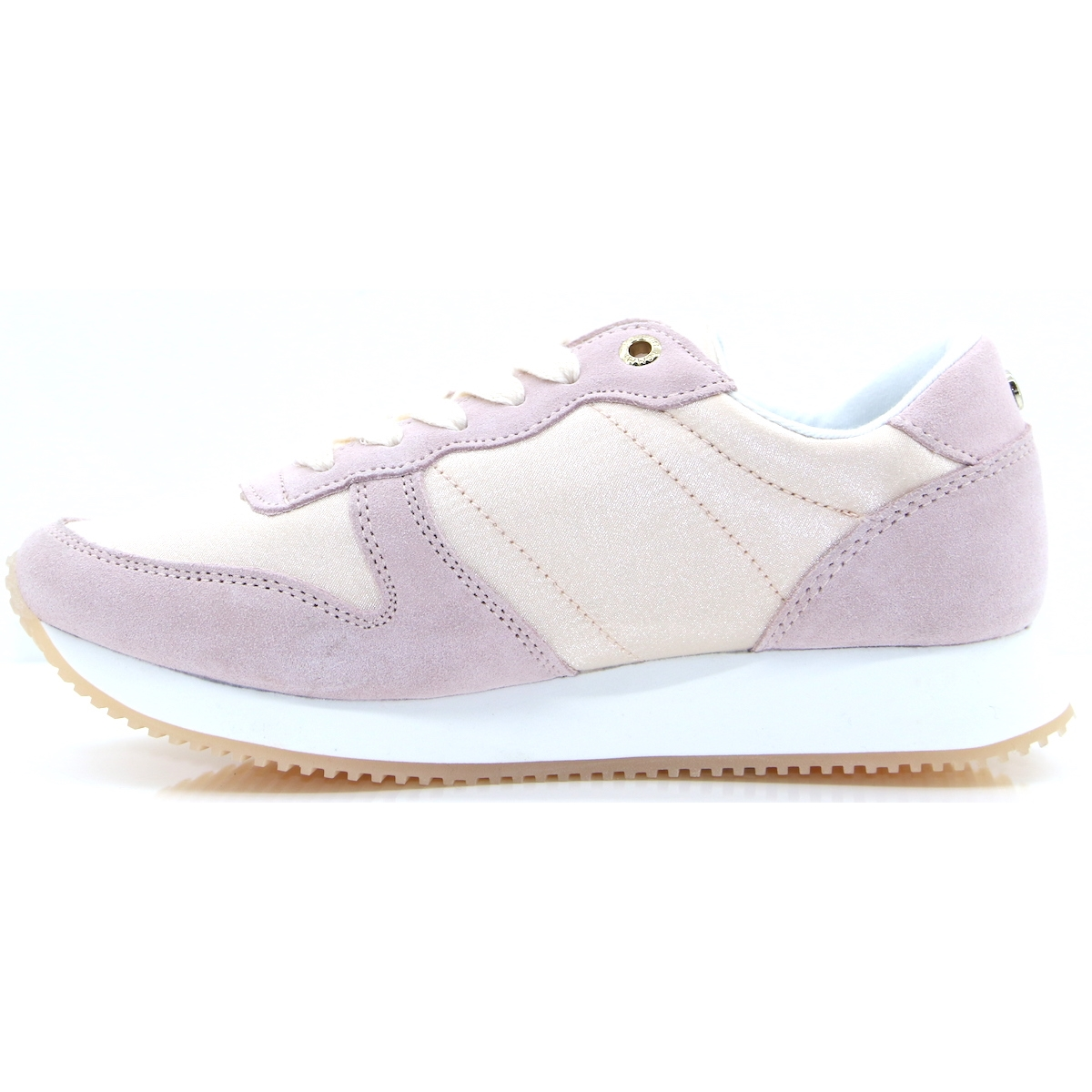 d6770587473e Sparkle Satin City Sneaker - Tommy Hilfiger LIGHT PINK TRAINERS - Panache  Shoe Company