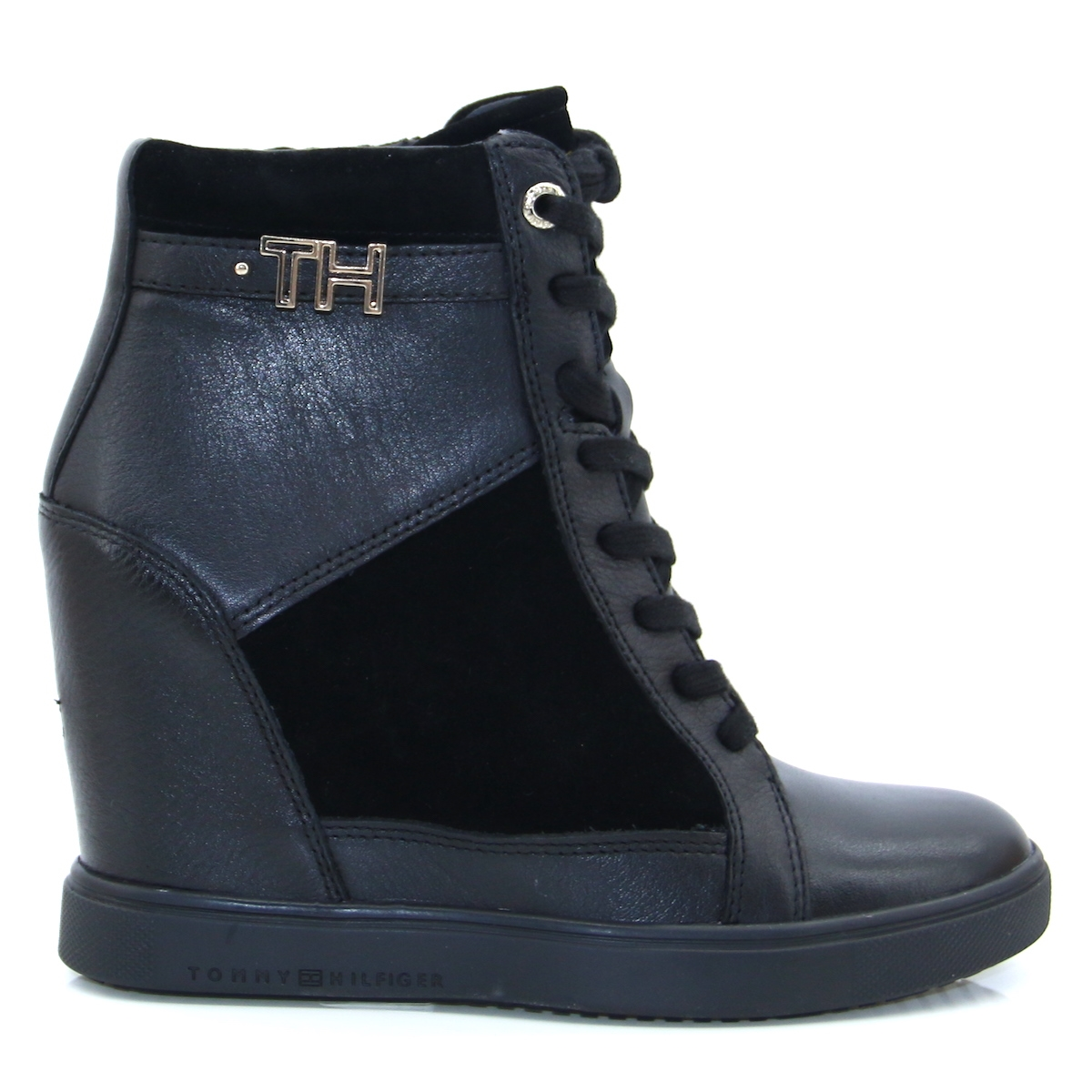 TH Hardware Wedge Boot - Tommy Hilfiger