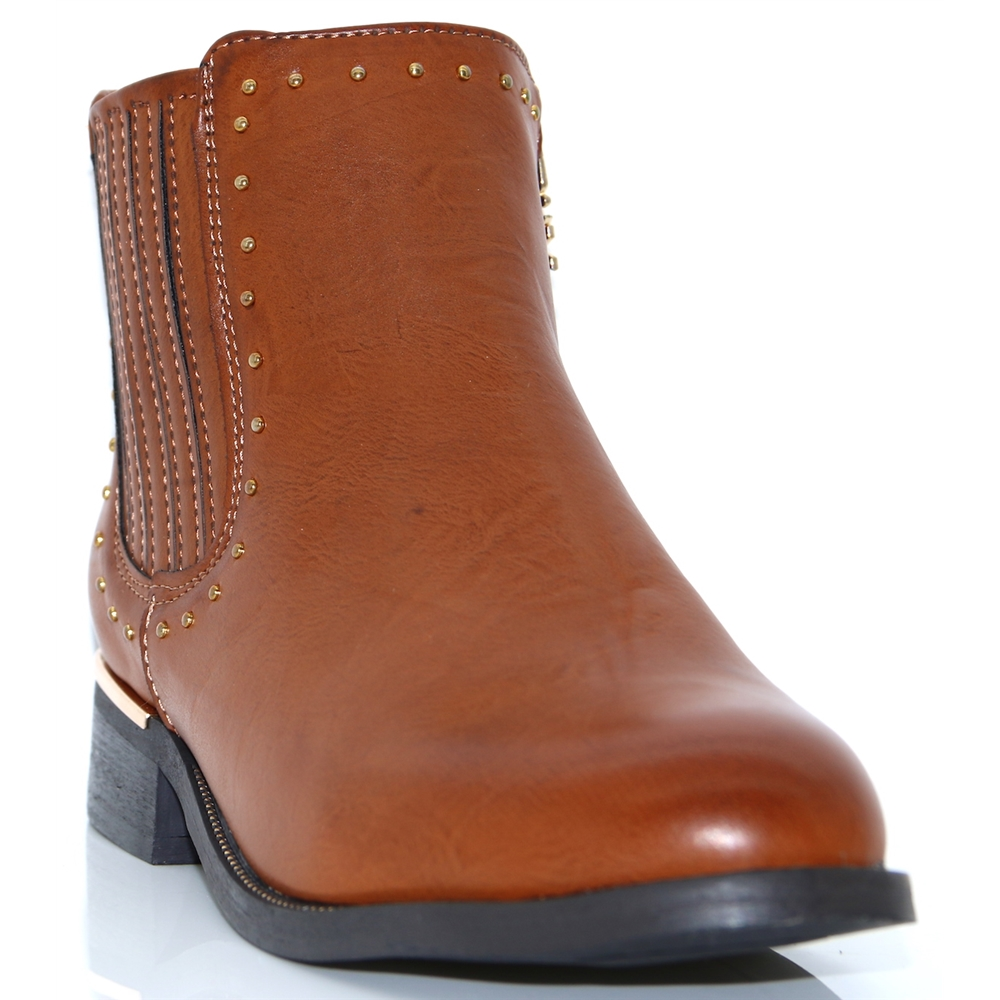 48617 - XTI TAN ANKLE BOOTS