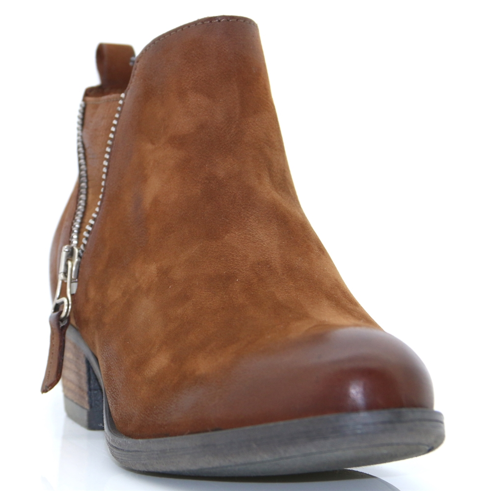 Bestifall - MODA IN PELLE TAN ANKLE BOOTS