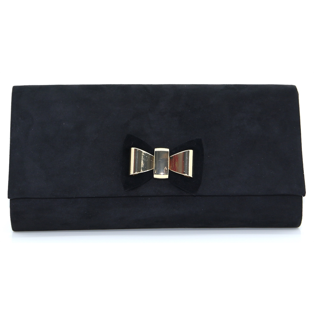 Pippy Clutch - LUNAR BLACK OCCASION BAG