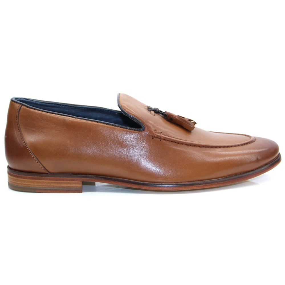 Enzo Loafer - Paolo Vandini Tan Loafers