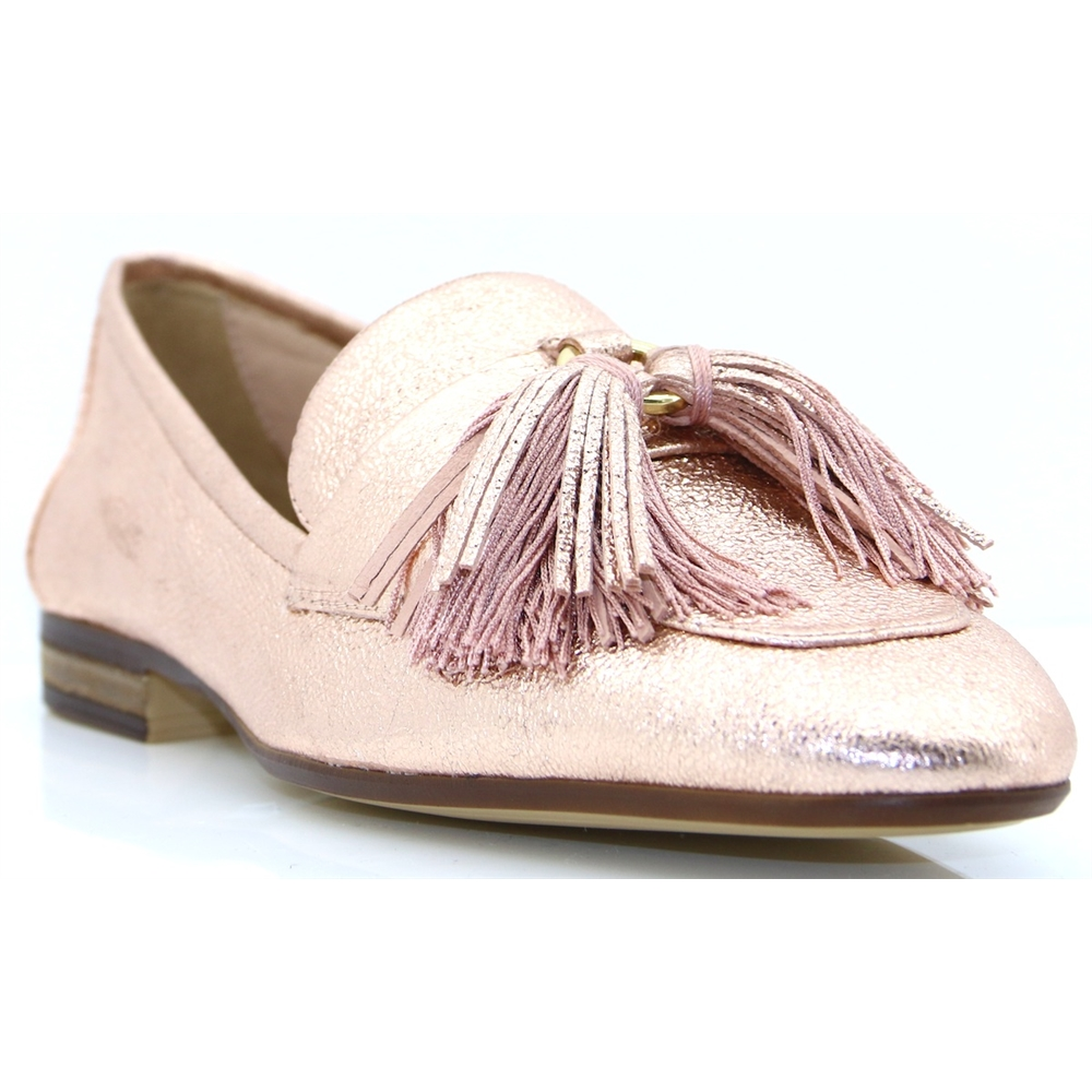DUJOS - UNISA ROSE GOLD LOAFERS