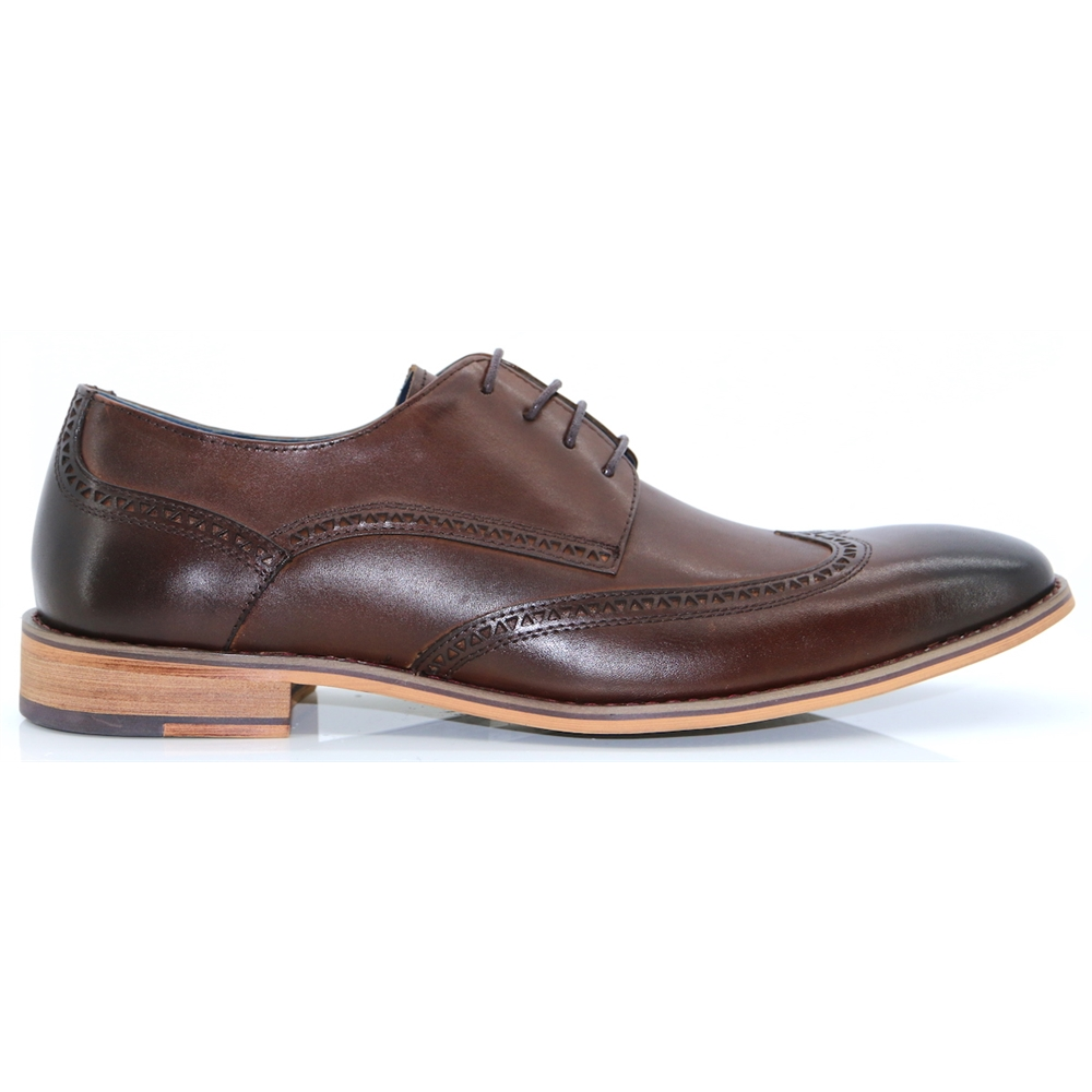 Thane - PAOLO VANDINI BROWN OXFORDS
