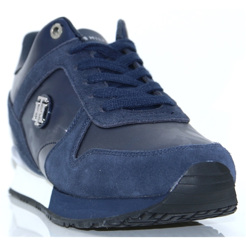 2dab00f07 Wedge Sneaker - TOMMY HILFIGER NAVY TRAINERS
