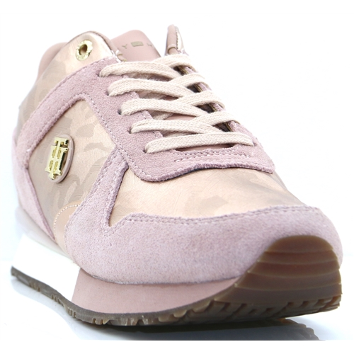 e48bde1f2fe571 Wedge Sneaker - TOMMY HILFIGER ROSE TRAINERS