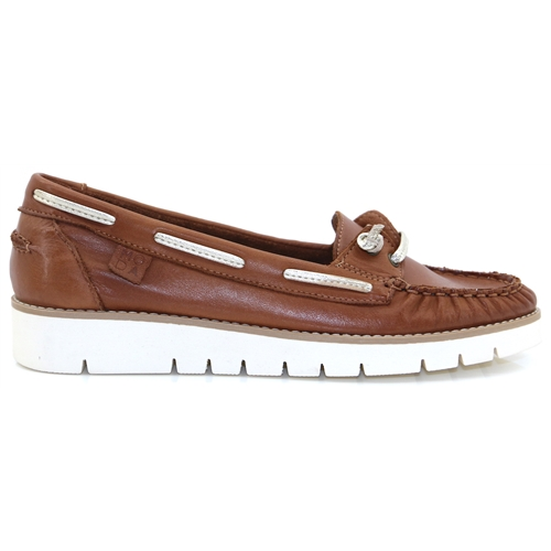d654858aa9cc Arela - MODA IN PELLE TAN LOAFERS