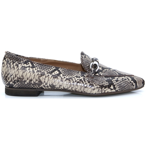 66175cd02a86 191722IP - ANTONIO MORETTO BEIGE SNAKE PRINT LOAFERS