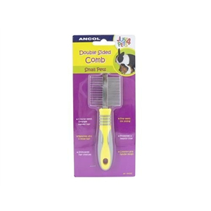 Ancol Small Animal Double Sided Grooming Comb