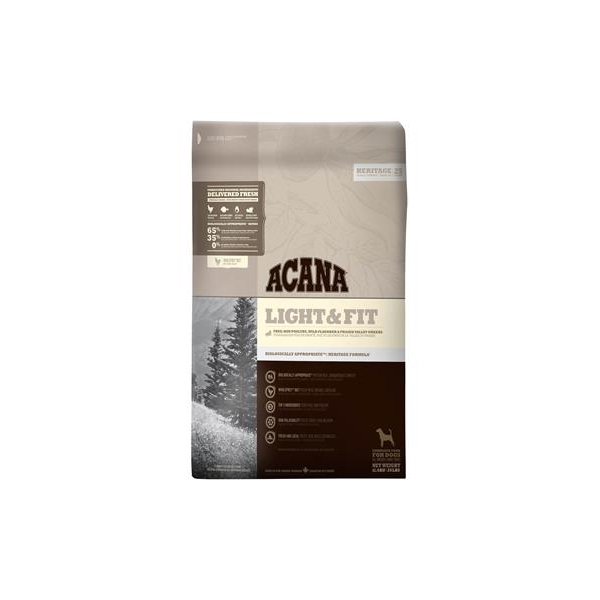 Acana Light & Fit Adult Dog Food 11.4kg