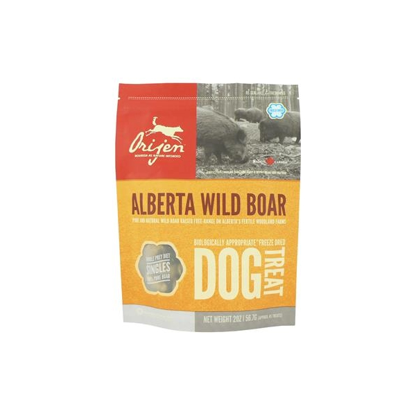 Orijen Alberta Wild Boar Dog Treats 42.5g