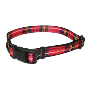 Ancol Large Red Tartan Collar