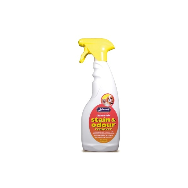 Johnsons Clean n Safe Stain & Odour Spray