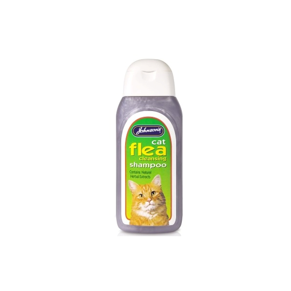Johnsons Cat Flea Shampoo