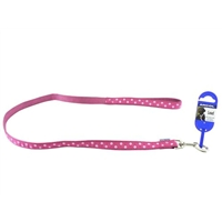Ancol Raspberry Pink Polka Dot Lead