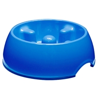 Small Blue Anti-Gulp Bowl