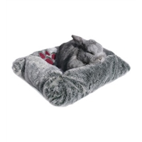 Rose Wood Luxury Plush Snuggle Bed