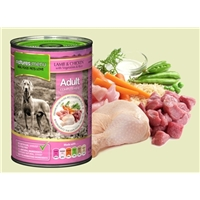 Natures Menu Lamb + Chicken 400G Tin