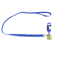 Ancol Blue Paw N Bone Reflector Lead