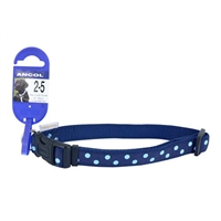 Ancol Medium Blue Polka Dot Collar