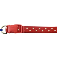 Ancol Large Red Polka Dot Dog Collar