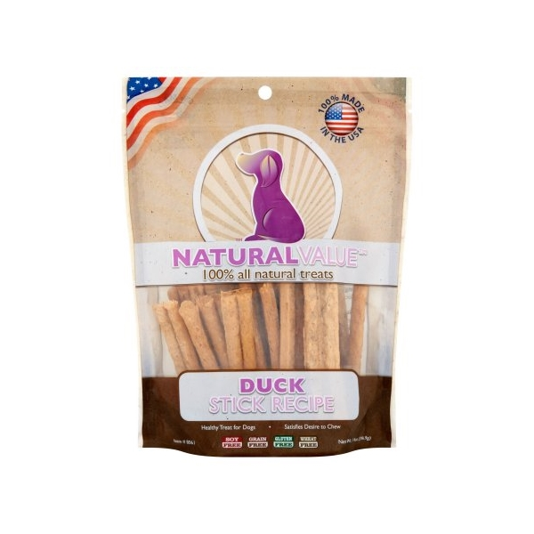 Loving Pets Natural Value Duck Sticks
