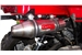 Scrambler 500 Exhaust stainless steel Tri Oval