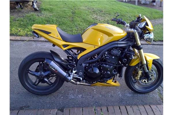 2005 2006 speed triple 1050 exhaust single low gpr motorcycle exhausts. Black Bedroom Furniture Sets. Home Design Ideas