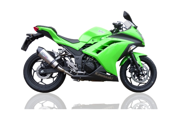 kawasaki ninja 300r gpe titanium exhaust gpr motorcycle exhausts. Black Bedroom Furniture Sets. Home Design Ideas
