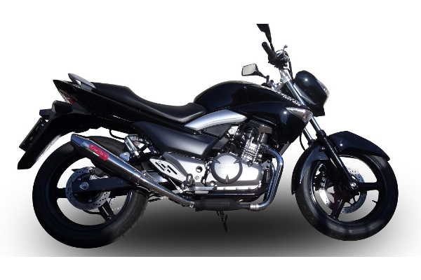 inazuma 250 exhaust new powercross by gpr gpr motorcycle exhausts. Black Bedroom Furniture Sets. Home Design Ideas