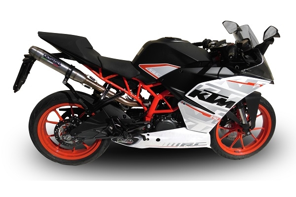 KTM Rc 390 High Level Deeptone Stainless: KTM Rc Exhaust At Woreks.co