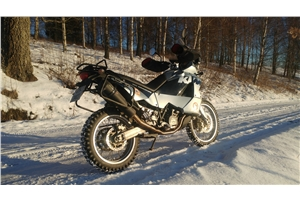 LC8 950 ADVENTURE - S 2003/07 GP EVO4 BLACK TITANIUM E4.CO.CAT.KTM.11.1.GPAN.BLT