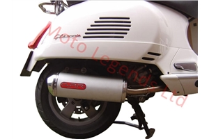 GT125 Exhaust - oval full system 2003-2007