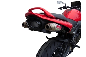 GSR600-S Exhaust - Stainless Deeptone