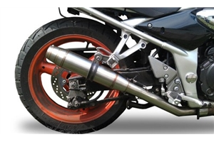 GSF 600 Bandit Exhaust - Stainless Deeptone