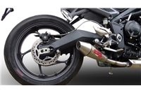 Street Triple 675 Exhaust - 2013> - Stainless Powercross