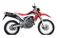 CRF250L Exhaust - Furore Nero