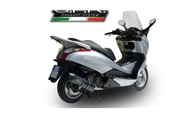 SILVER WING 125 - S-Wing 125 2009/13 Furore Carbon Look  Full System Exhaust