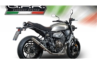 XSR 700 2015-16 - Full Exhaust System - Deeptone Stainless