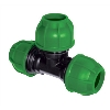 25MM GREEN EQUAL TEE UNION, rA214025000