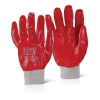 PVC F/COATED K/WRIST RED SZ 10, BTPVCFCKWR10
