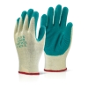 M/P GREEN LATEX P/C GLOVE L, BTMP1GL