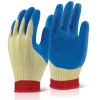 KEVLAR LATEX GLOVES LARGE, BTKLGL