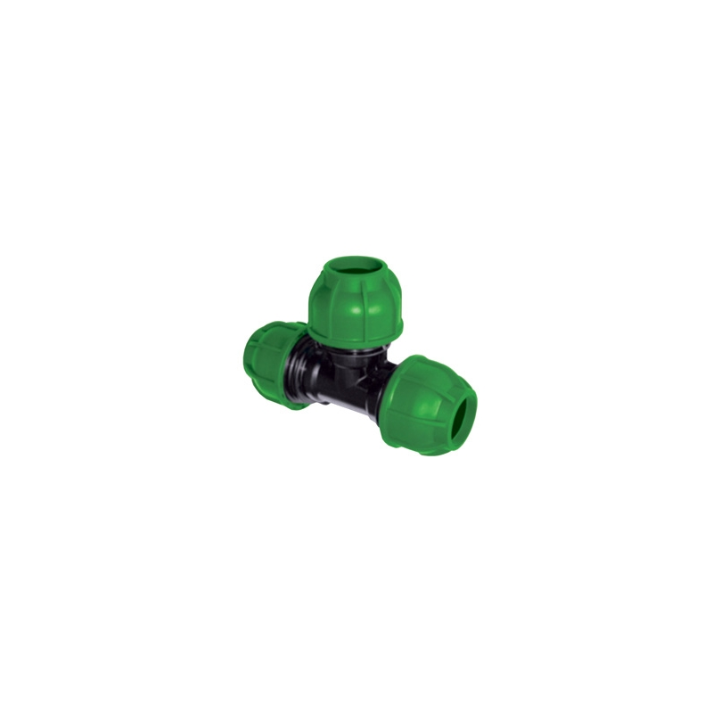 40MM GREEN EQUAL TEE UNION, rA214040000