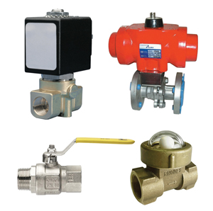 Ball, Gate, Check & Solenoid Valves