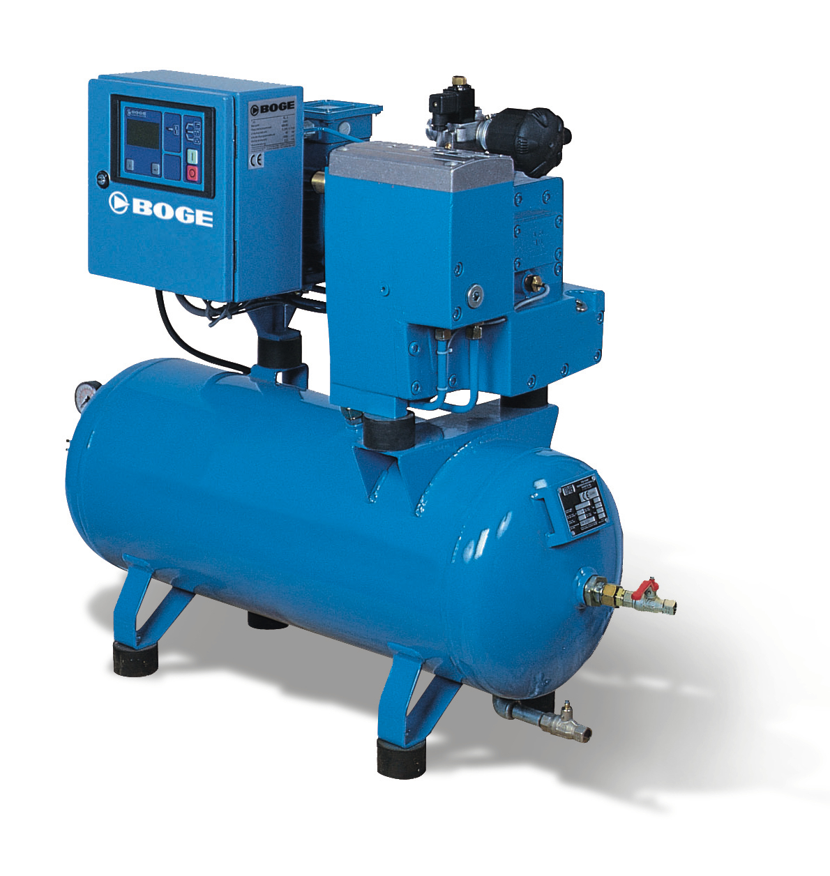 Fixed Speed Oil Lubricated Screw Compressors