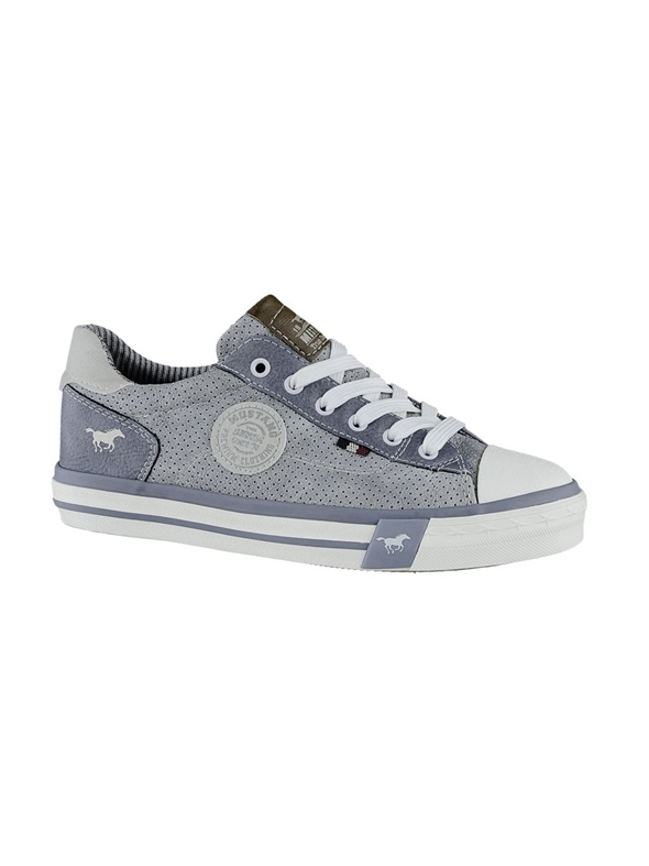 Ladies Mustang Sky Blue Trainer 5024305