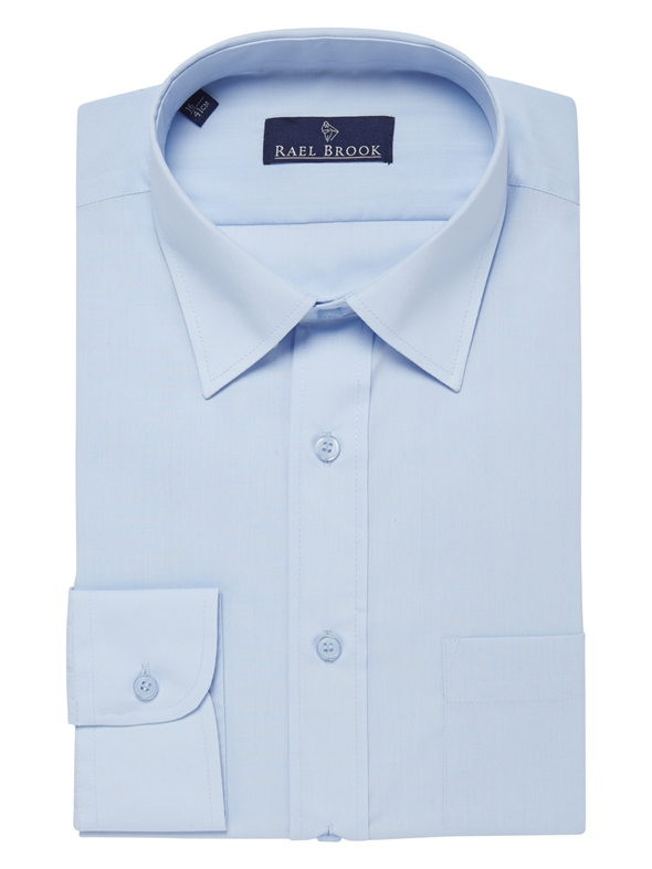 Rael Brook Plain Light Blue Shirt